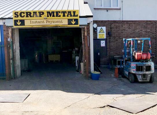 recycling scrap metal in romford